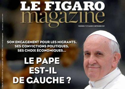 La question idiote de la rentrée : le pape est-il de gauche