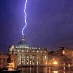 Le geste prophétique d'un «pape de transition»